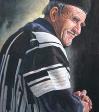 مرد بختیاری (نقاشی پاستل) توسط آقای علیرضا زارع