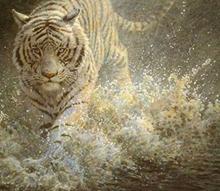 آبهای سنگین (نقاشی رنگ روغن روی بوم) توسط علیرضا زارع