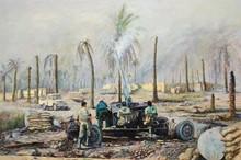 بسیج (نقاشی پاستل) توسط آقای علیرضا زارع